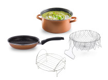 Stone Legend CopperLUX Cratita 24 cm Cook'n'bake Delimano
