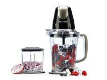 Blender si maruntitor 2in1 Astoria Black Delimano