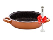 Stone Legend CopperLUX Tava cu forma rotunda Delimano
