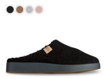 Papuci de camera cu talpa plata Green Walkmaxx