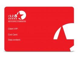 Card de fidelitate Club5* Basic