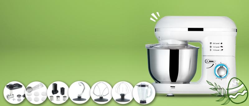 Robot de bucatarie Pro (Alb) Delimano