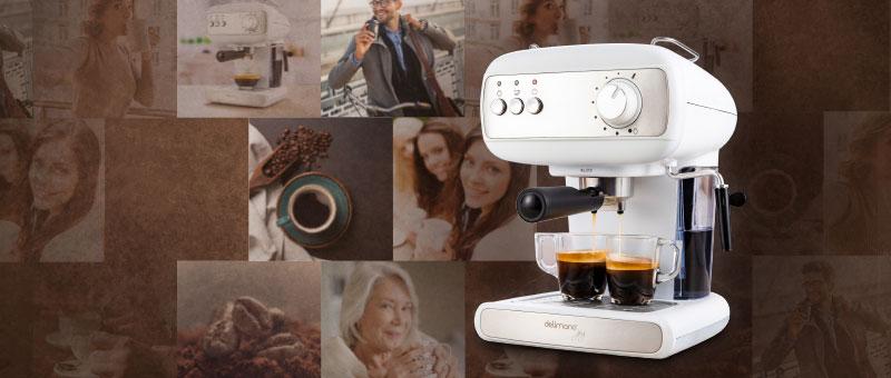 OFERTA ZILEI: Aparat electric de facut cafea Delimano Joy Espresso.