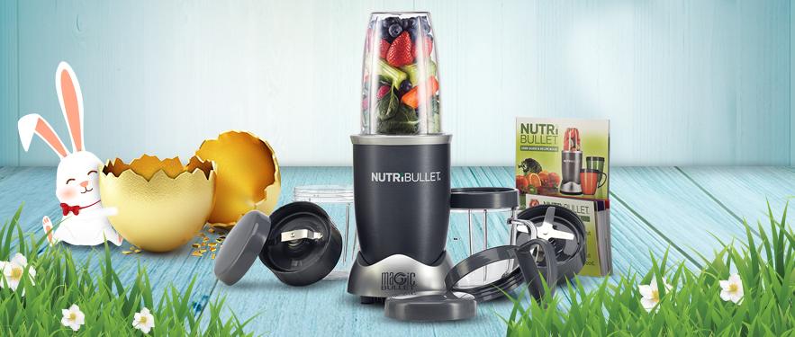 Extractorul de nutrienti Nutribullet Supreme - Cel Mai Mic Pret de Pasti!