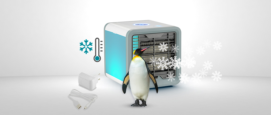 Aparat portabil de racit aerul - Rovus Arctic Cooler