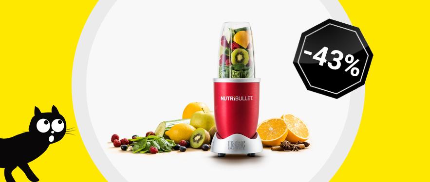 Extractor de nutrienti Nutribullet Rosu - Acum cu 1000 Lei REDUCERE.