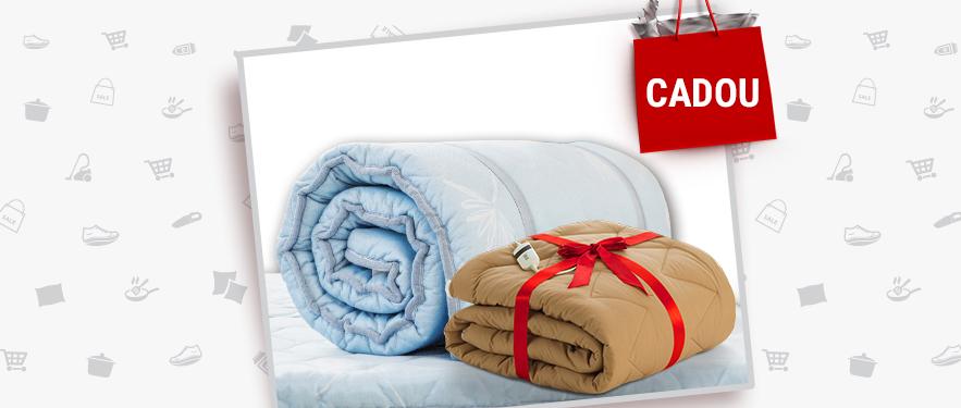 Toppere Dormeo + CADOU: Patura cu incalzire Warm Hug
