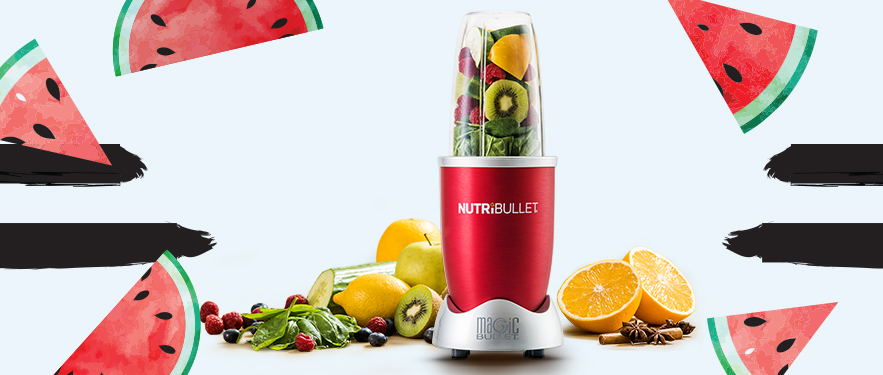 Extractor de nutrienti Nutribullet Rosu - Cel Mai Mic Pret!