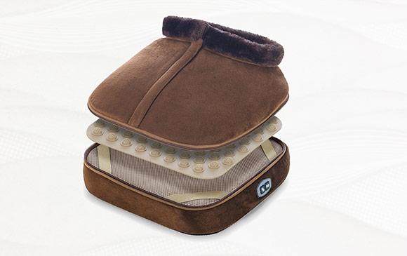 Dispozitiv pentru masaj cu incalzire Wellneo 3in1