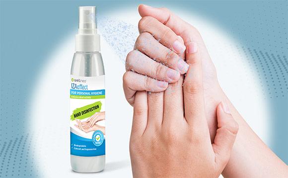 Solutia dezinfectanta Wellneo® IZAeffect
